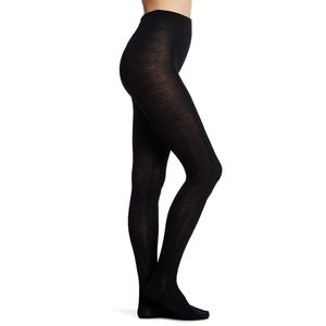 SMARTWOOL Merino wool blend cable knit tights